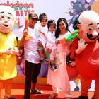 PIX: Karanvir Bohra's Holi party for his twins