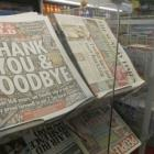 We lost our way: News of the World's last editorial