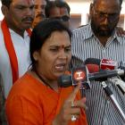 Union minister Uma Bharti admitted to AIIMS following chest pain