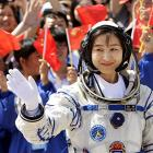 In PHOTOS: China's first woman astronaut soars into space