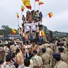 Cauvery bandh hits normalcy in Karnataka