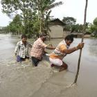 PIX: Flood situation worsens in Assam; 5 lakh affected