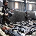 Ahead of polls, army seizes 18 AK-47 rifles and 5 pistols in J-K