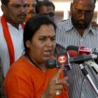 Uma Bharti asks Yeddyurappa  to return to BJP