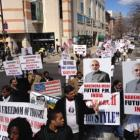 PHOTO: Modi's supporters protest against Wharton