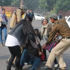 SHAME! Delhi cops beat up, detain acid attack survivors