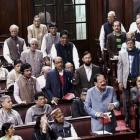 Wanting reply from PM, opposition stalls RS for 4th day