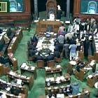 Lok Sabha chaos: One member tears newspapers, another falls ill