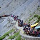 Amarnath Yatra resumes as weather improves