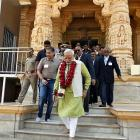 PM discusses ways to make Somnath temple complex more attractive to tourists