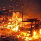 230 shops gutted in Faridabad cracker market fire