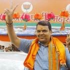 BJP president Fadnavis meets Gadkari on Diwali