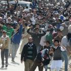 Clashes in Kashmir over Tral killings, Masarat's arrest