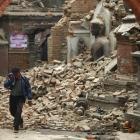 Heavy rains likely in quake-hit Nepal, warns IMD