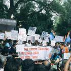 As FTII stir reaches Delhi, politics of blame game begin