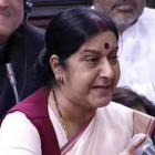 Did not request UK to give travel documents to Lalit Modi: Sushma