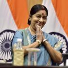 Sushma undergoes kidney transplant at AIIMS
