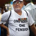 No solution to OROP row, veterans seek president's intervention