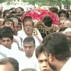 Patel quota row: Swetang's funeral held amid tight security