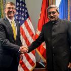 India, US sign agreement to enable forces to use each other's base