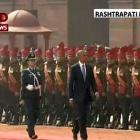 In a first, lady officer leads guard of honour