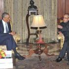 Honoured to be hosting you this time: Pranab to Obama