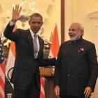 Modi sleeps fewer hours than me, jokes Obama