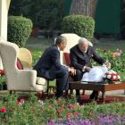 The US-India roller coaster has, once again, reached its zenith