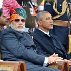 Modi's pet projects show up at Republic Day parade