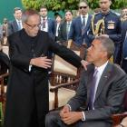 When Obamas enjoyed tea at Rashtrapati Bhavan