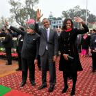 PHOTOS: The different moods of Obamas @ Rajpath