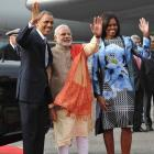 Desi who designed this Michelle dress wants to style Modi