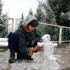 Joy comes to Kashmir as valley witnesses season's first snowfall