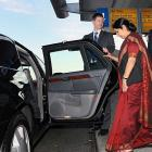 Swaraj arrives in Beijing on four-day visit