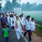 The Walk of Hope from Kanyakumari to Kashmir