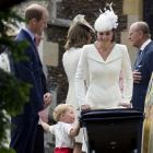 UK's Prince George's look of love on sister's big day