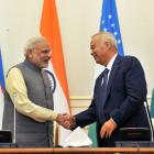 In Uzbekistan, PM Modi discusses terror, Afghanistan