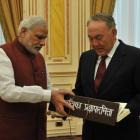 PHOTOS: Modi's bag of gifts for Kazakh president