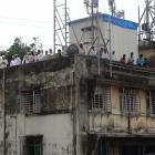 Photos: Mahim on the edge as Memon's body comes home