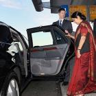 External Affairs Minister  Swaraj in Lanka ahead of Modi visit