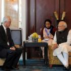 Modi discusses bilateral initiatives with Singapore leaders