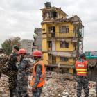 Nepal takes charge of post-quake ops as toll mounts to 7,557