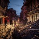 After Nepal quake, presidential building no longer safe