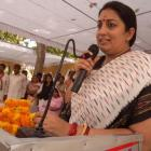 Nation will not tolerate insult to Mother India: Irani on JNU row