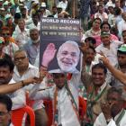 Cong workers detained in Ahmedabad for protesting against Modi rule