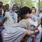 When Priyanka walked hand in hand with the people of Rae Bareli