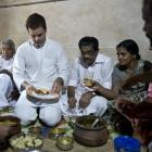 PHOTOS: When Rahul gorged on fish-curry rice, posed for selfies in Kerala