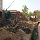 Was this slum razed because of Akhilesh Yadav?