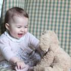 Kate releases new pictures of UK Princess Charlotte