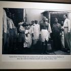 Gandhi in a Metro